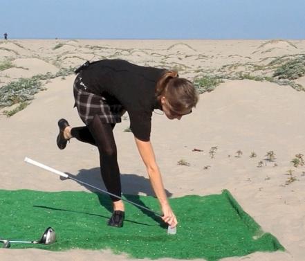 Rotation with Balance for Golf with Karena Thek