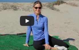 Back Exercises for Golf with Karena Thek